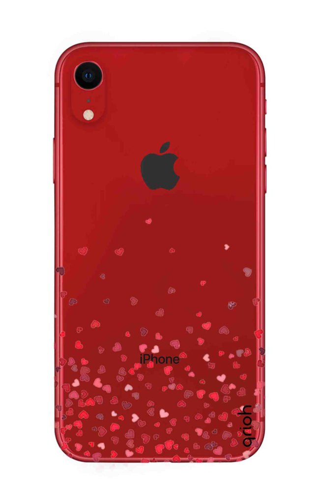 new concept 9bfb9 dd15b Floating Hearts Case for iPhone XR