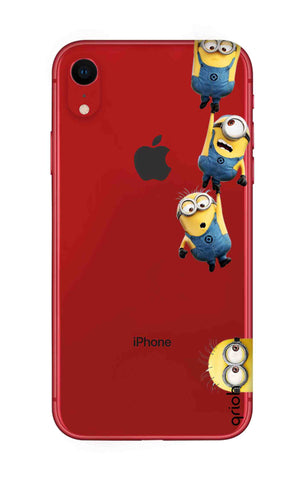Falling Minions iPhone XR Cases & Covers Online