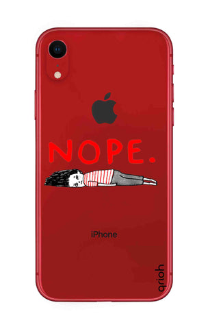 Nope iPhone XR Cases & Covers Online