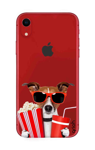 Dog Watching 3D Movie iPhone XR Cases & Covers Online