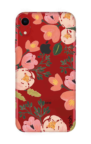 Painted Flora iPhone XR Cases & Covers Online