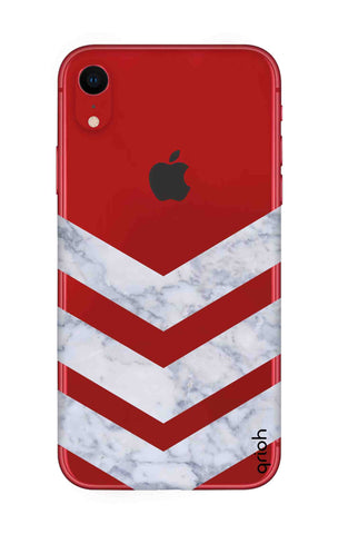 Marble Chevron iPhone XR Cases & Covers Online