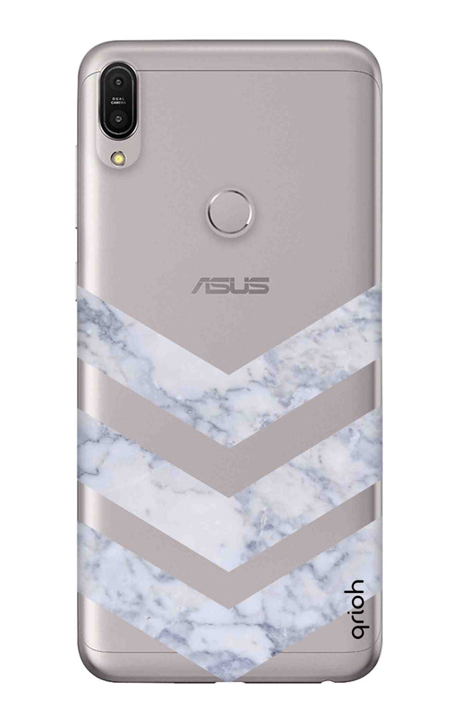 asus zenfone max pro m1 cover  Marble Chevron Asus Zenfone Max Pro M1 Back Cover - Flat 35% Off On ...