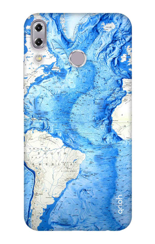 World Map Asus Zenfone 5z Cases & Covers Online