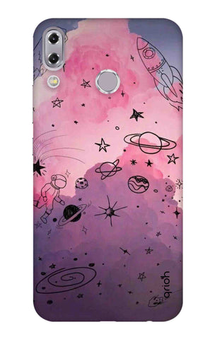 Space Doodles Art Asus Zenfone 5z Cases & Covers Online