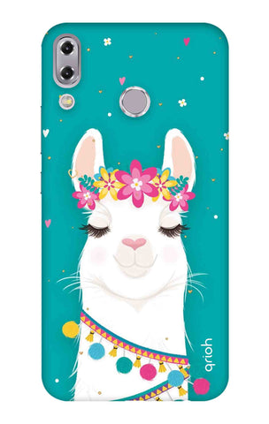 Cute Llama Asus Zenfone 5z Cases & Covers Online