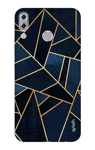 Abstract Navy Asus Zenfone 5z Cases & Covers Online