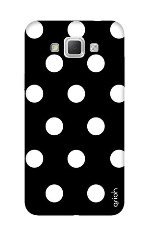 White Polka On Black Samsung Galaxy Grand Max Cases & Covers Online
