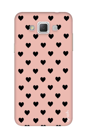 Black Hearts On Pink Samsung Galaxy Grand Max Cases & Covers Online