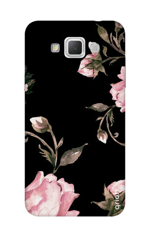 Pink Roses On Black Samsung Galaxy Grand Max Cases & Covers Online