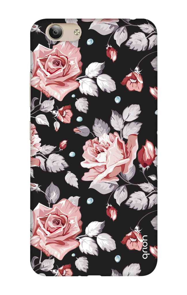 new styles e4831 71bb4 Shabby Chic Floral Case for Vivo Y53