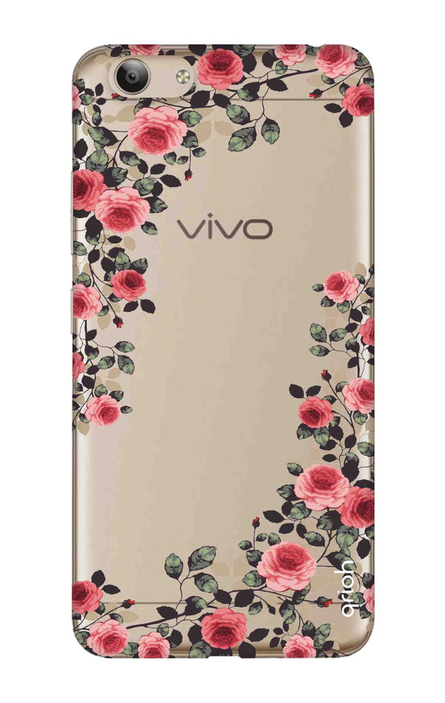 cheaper 75a18 9724c Floral French Case for Vivo Y53