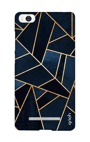 Abstract Navy Xiaomi Mi 4i Cases & Covers Online