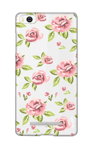 Elizabeth Era Floral Xiaomi Mi 4i Cases & Covers Online