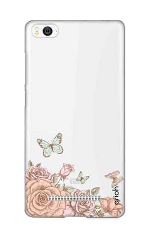 Flower And Butterfly Xiaomi Mi 4i Cases & Covers Online