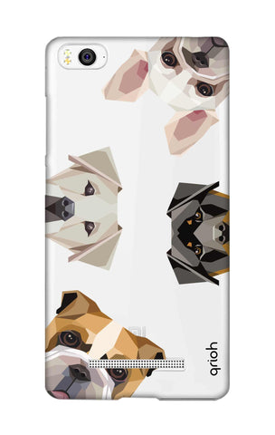 Geometric Dogs Xiaomi Mi 4i Cases & Covers Online