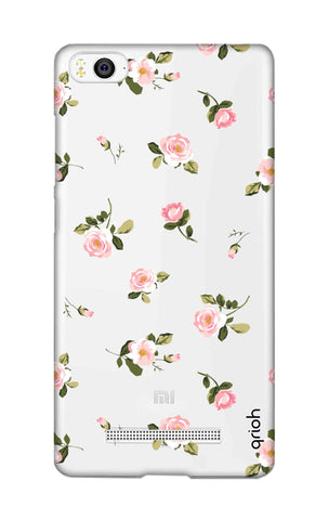Pink Rose All Over Xiaomi Mi 4i Cases & Covers Online