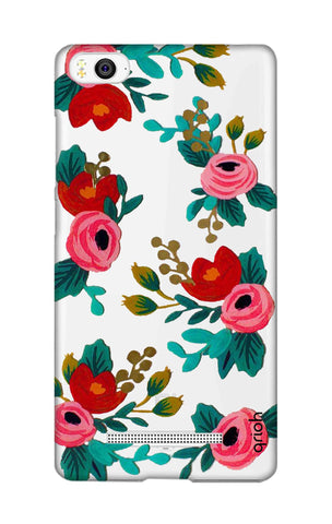 Red Floral Xiaomi Mi 4i Cases & Covers Online