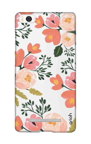 Painted Flora Xiaomi Mi 4i Cases & Covers Online