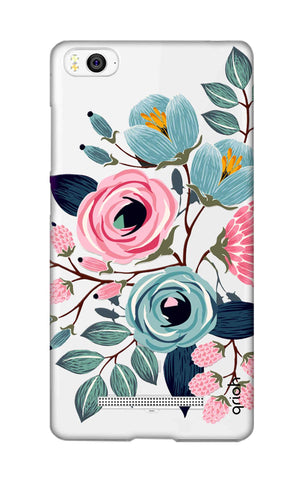 Pink And Blue Floral Xiaomi Mi 4i Cases & Covers Online