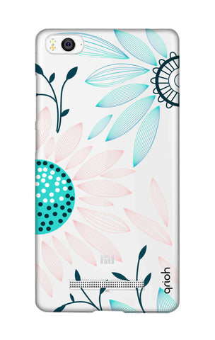 Pink And Blue Petals Xiaomi Mi 4i Cases & Covers Online