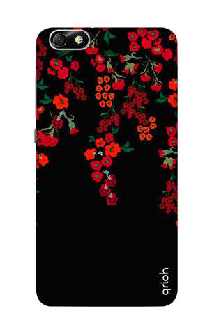 Floral Deco Honor 4X Cases & Covers Online