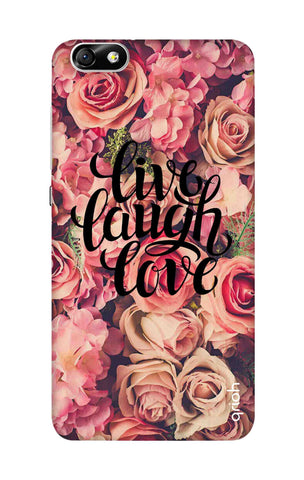 Floral Live, Laugh, Love Honor 4X Cases & Covers Online