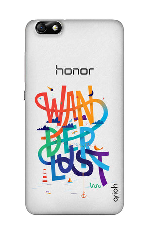 Wanderlust Colourful Honor 4X Cases & Covers Online