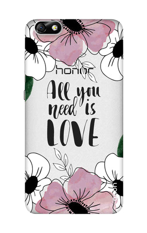 All You Need is Love Honor 4X Cases & Covers Online