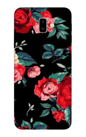 Wild Flowers Samsung J6 Plus Cases & Covers Online