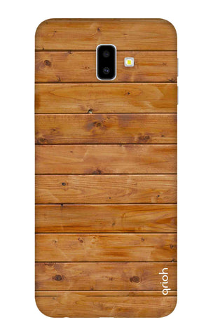 Natural Wood Samsung J6 Plus Cases & Covers Online
