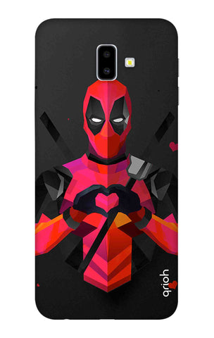 Valentine Deadpool Samsung J6 Plus Cases & Covers Online