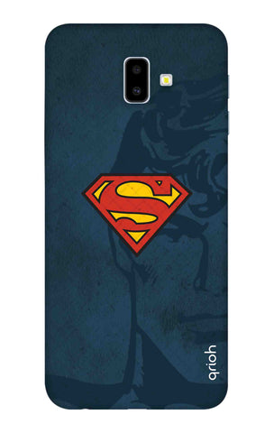 Wild Blue Superman Samsung J6 Plus Cases & Covers Online