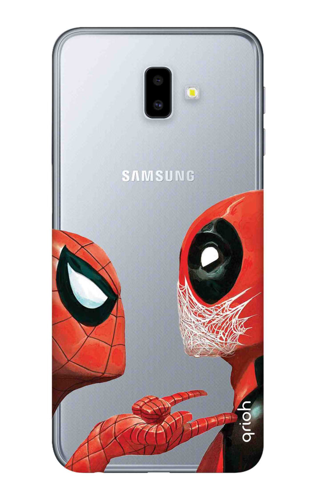 super popular 2933d 10ebe Sup Deadpool Case for Samsung J6 Plus