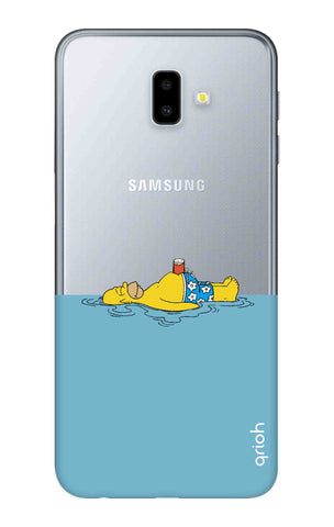 Simpson Chill Samsung J6 Plus Cases & Covers Online