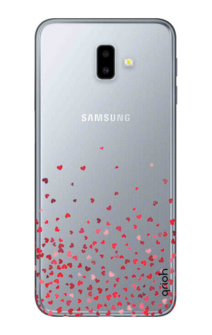 Floating Hearts Samsung J6 Plus Cases & Covers Online