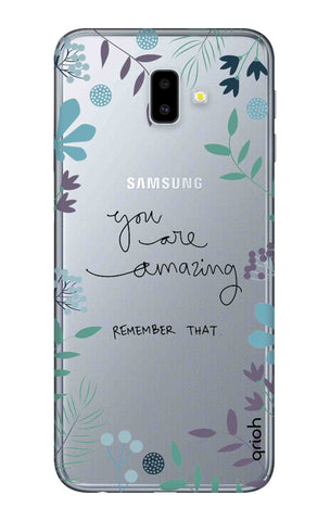 best cheap 53851 f00ad You're Amazing Case for Samsung J6 Plus