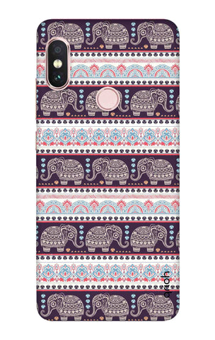 Elephant Pattern Xiaomi Redmi Note 6 Pro Cases & Covers Online