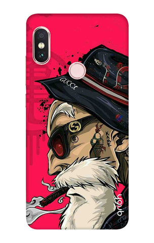 Hipster Oldman Xiaomi Redmi Note 6 Pro Cases & Covers Online