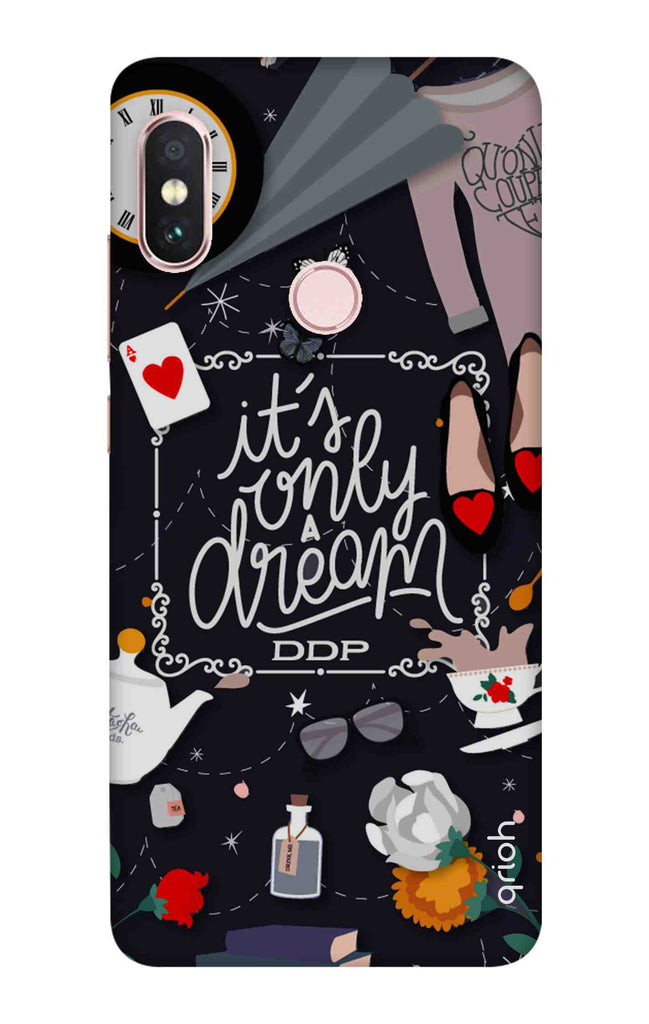 purchase cheap bfde3 1804a Only a Dream Case for Xiaomi Redmi Note 6 Pro