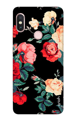 Floral Pattern Xiaomi Redmi Note 6 Pro Cases & Covers Online