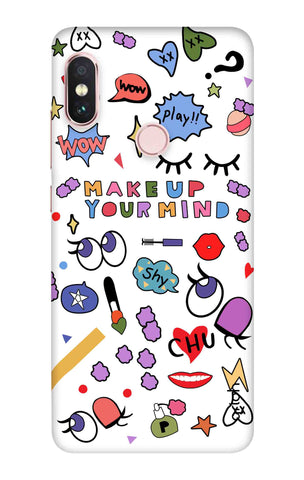 Makeup Your Mind Xiaomi Redmi Note 6 Pro Cases & Covers Online