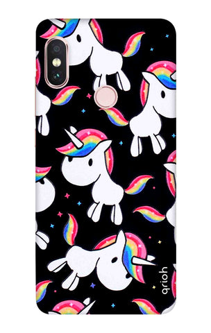 Colourful Unicorn Xiaomi Redmi Note 6 Pro Cases & Covers Online