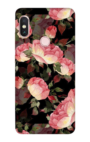 Watercolor Roses Xiaomi Redmi Note 6 Pro Cases & Covers Online