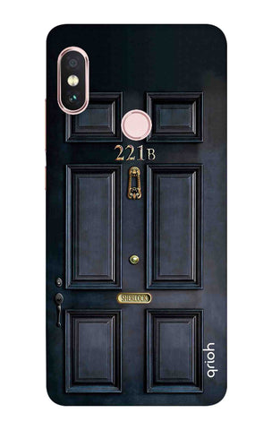 Baker Street Door Xiaomi Redmi Note 6 Pro Cases & Covers Online