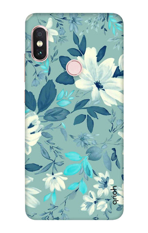 White Lillies Xiaomi Redmi Note 6 Pro Cases & Covers Online