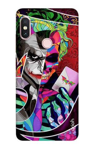 Color Pop Joker Xiaomi Redmi Note 6 Pro Cases & Covers Online