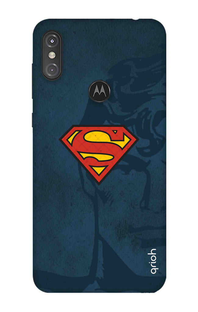 new concept 31628 15f7a Wild Blue Superman Case for Motorola One Power