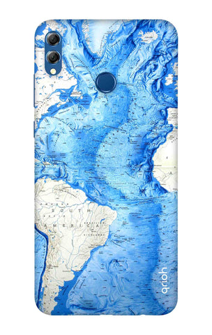 World Map Huawei Honor 8X Max Cases & Covers Online