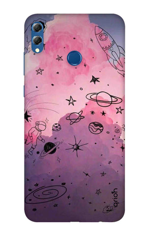 Space Doodles Art Huawei Honor 8X Max Cases & Covers Online